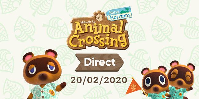 Animal Crossing New Horizons Direct – Le novità