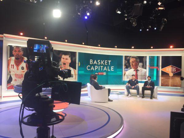 La Virtus Roma ospite a Sky Sport