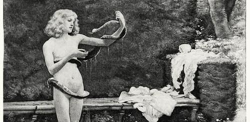 La donna e il serpente nelle fiabe del folclore italiano