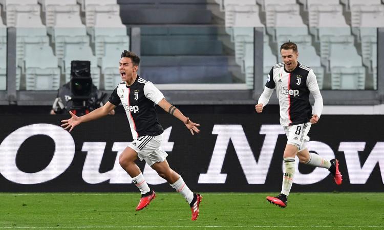 Ramsey e Dybala per il primato: la Juventus batte l'Inter 2-0