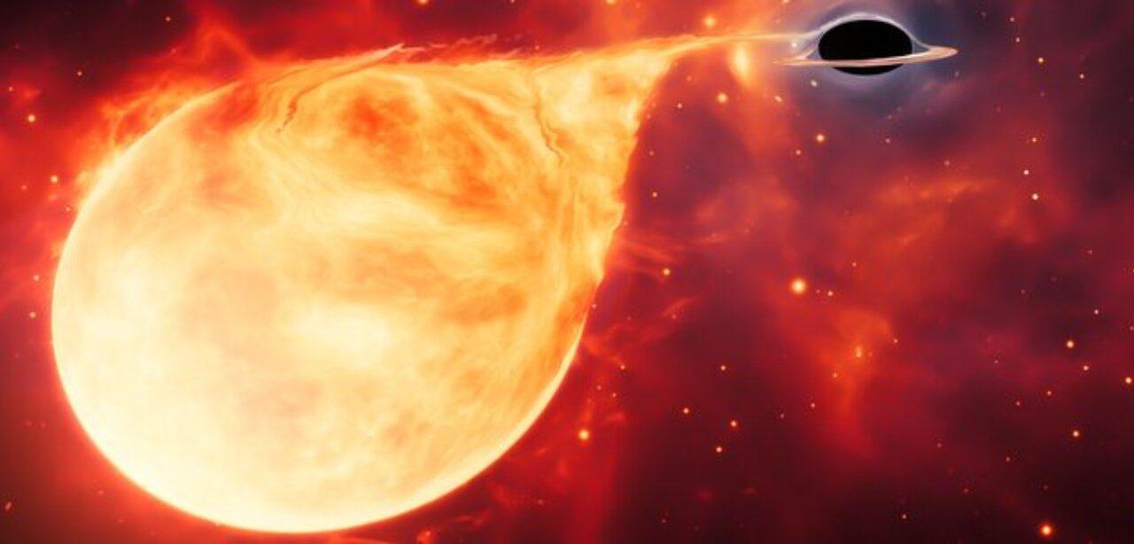 Un buco nero di massa intermedia intercettato dal satellite Hubble