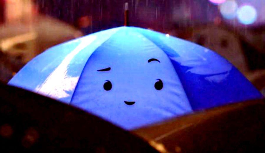 L'ombrello blu. La ricerca dell'altro nella frenesia quotidiana
