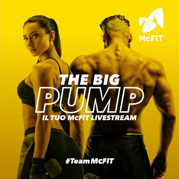 THE BIG PUMP: La catena tedesca numero uno in Europa crea il primo Fitness-Channel in livestream con 10 ore di contenuti nuovi ogni giorno