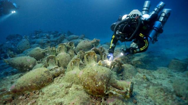 La professione dell'archeologo subacqueo