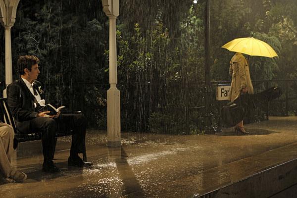 ombrello giallo