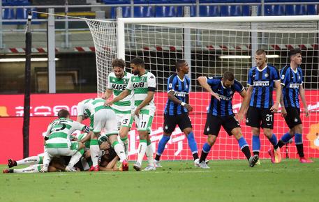 Un'Inter sprecona rallenta contro il Sassuolo: 3-3