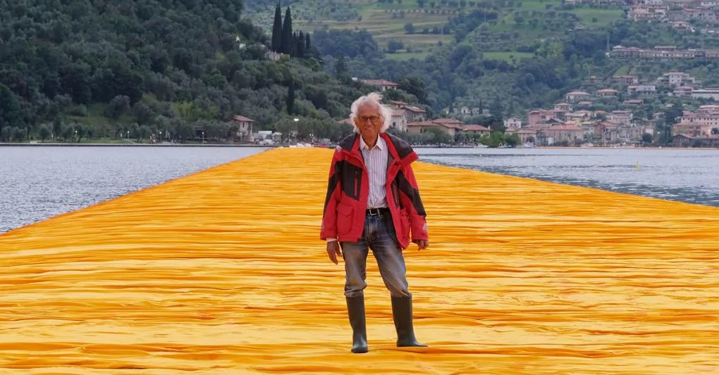 The Floating Piers, quando Christo ci fece camminare sul Lago d'Iseo