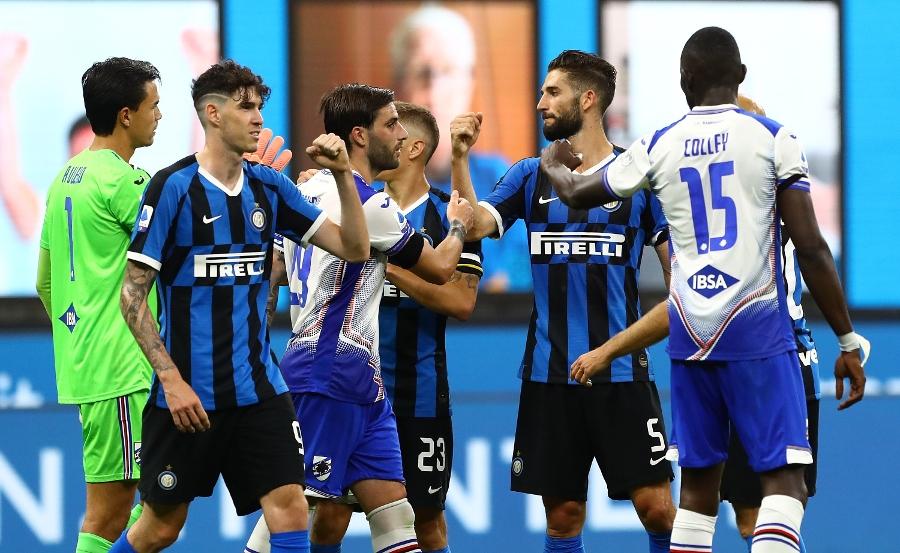 L'Inter riparte, 2-1 alla Sampdoria