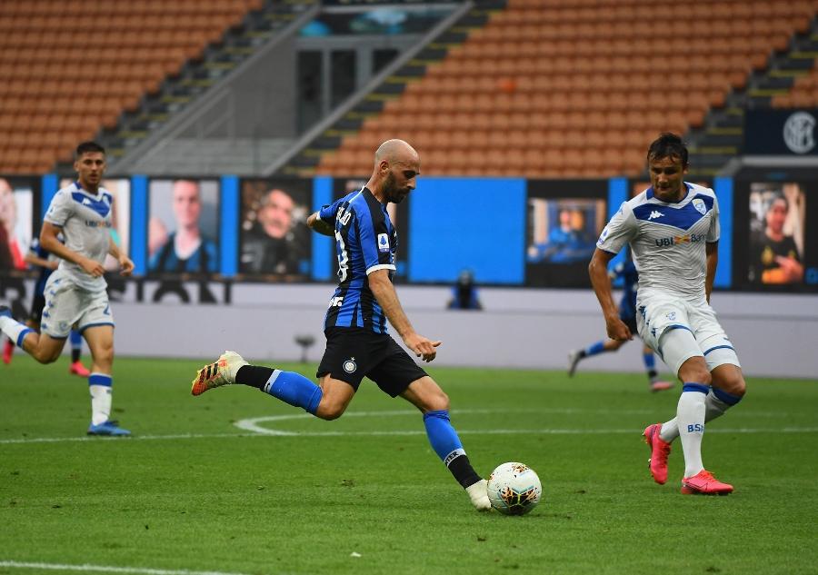 Goleada Inter, 6-0 al Brescia