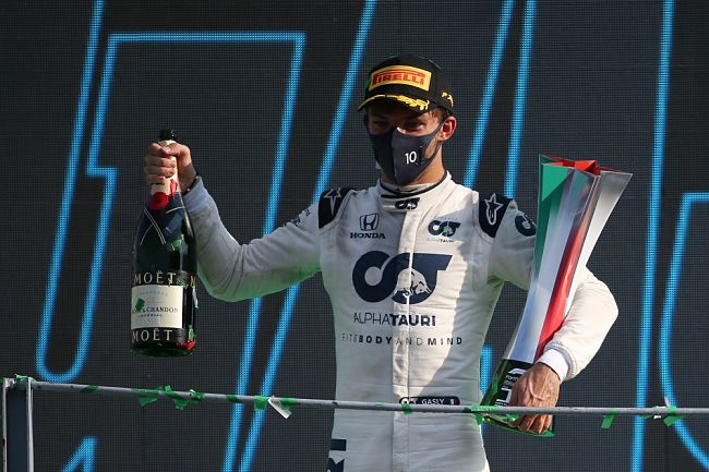 Gp d'Italia: incredibile vittoria di Pierre Gasly, la AlphaTauri di Faenza trionfa a Monza