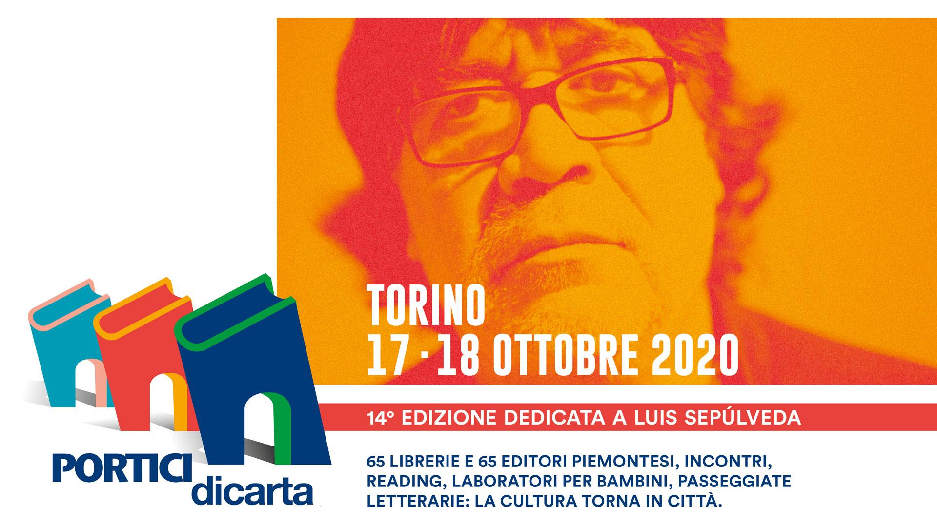 Portici di Carta 2020 in memoria di Luis Sepulveda