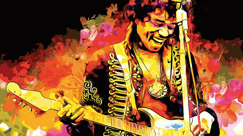 La chitarra elettrica di Jimi Hendrix oggi suona Neo-Soul