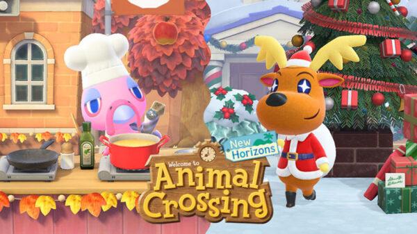 Animal crossing aggiornamento invernale