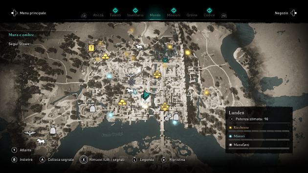 assassin's creed valhalla mappa